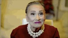 """80-Year-Old Grandma Gets Makeup Transformation from Granddaughter, Becomes """"Glam-ma"""" - My Modern Met"""
