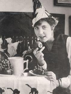 Halloween Party, c.1923. #vintage #1920s #Halloween