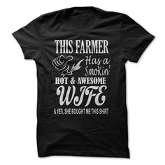 This Farmer has a smokin hot and awesome wife