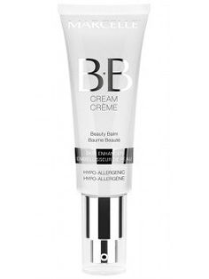 Marcelle BB Cream 8-in-1 Skin perfecter; for those days you really don't feel like applying foundation : plus, the tube comes with a pump. A beauty must-have, ladies !