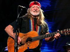 How to be Willie Nelson for Halloween:  Basics: red bandana, cowboy hat, black t-shirt, hairbands (for braiding your long, luxurious hair, gentlemen) or a long, dirty blonde wig.
