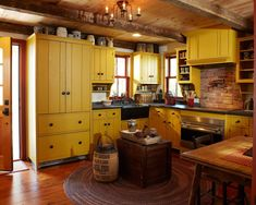 The vibrant Farmhouse Kitchen of an award-winning Historic Renovation in Hillburn NY [1500 x 1200]
