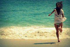 Running into the sun. Summer Of Love, Summer Time, Pink Summer, Spring Break, Summer Beach, Summer Days, Summer Skin, Summer Girls, Summer 2014