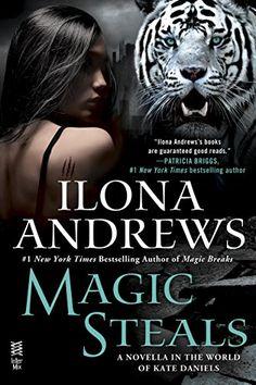 Magic Steals (World of Kate Daniels) by Ilona Andrews https://www.amazon.com/dp/B018FM3E5M/ref=cm_sw_r_pi_dp_41RLxb43VK2C3