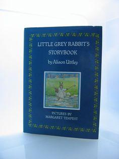 Little Grey Rabbit's Storybook  Alison by LittleCottageAttic