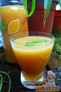 Рецепт: Ананасовый лимонад с личи.
