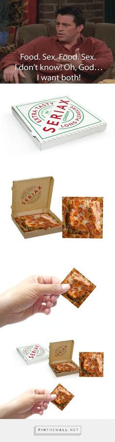 Pizza #Condom #Concept #packaging by Malygina Marina - http://www.packagingoftheworld.com/2015/01/pizza-condom-concept.html