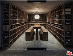 Wine cave? Tasting room? Wine cellar? This place is insane!