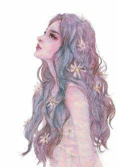 美人鱼的感觉 #illustration