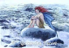 My Siren Alexandra Dawe Fairy Art