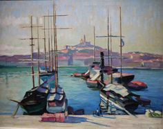 Félix Valloton - Le port de Marseille