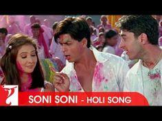 Soni Soni - Holi Song - Mohabbatein