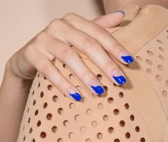 Baby Girl in electric cobalt is our sexiest mani to date.