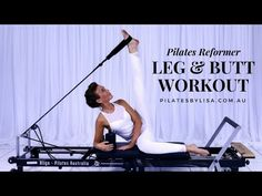 Pilates Reformer Leg & Butt Workout before and after for beginners reformer reformer exercises studio workout Pilates Workout Videos, Pilates Training, Pilates Reformer For Sale, Stott Pilates Reformer, Pilates Reformer Exercises, Pilates Studio, Yin Yoga, Hormon Yoga, Yoga Pilates
