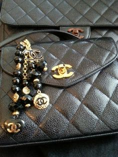 Dress Up your Bags! Chanel Purse Charm ArmCandy DesignsbyZ on Etsy