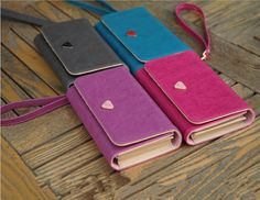Fashion Leather Wallet Purse Phone Case for iPhone 4S/5S Samsung Galaxy S3/S4 p
