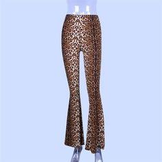 806d0c2e1675fd High waist leopard print flare leggings autumn winter women fashion sexy  bodycon trousers club pants