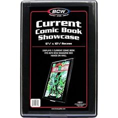 Comic Book Showcase Display Case New Current 10 6 3 X Recess Bcw Modern Frame  #BCW #Comic Book #Showcase