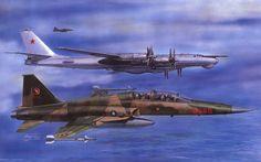 рисунок F-5F Tiger II