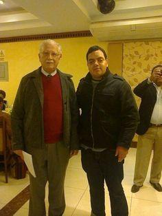 Con el líder histórico acciopopulista Allan Kessell del Río. (2013)