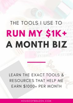 Are you looking for the best blogging tools & resources for your online business? Here's my ultimate list for bloggers & entrepreneurs!
