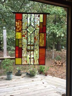 Stained Glass Suncatchers, Faux Stained Glass, Stained Glass Designs, Stained Glass Panels, Stained Glass Projects, Stained Glass Patterns, Stained Glass Studio, Beveled Glass, Mosaic Glass