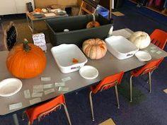Exploring all the parts of the pumpkin leads to a fantastic sensory play invitation. Felt Board Stories, Autumn Activities, Sensory Play, Early Childhood, Homeschooling, Exploring, Kindergarten, Preschool, Invitation