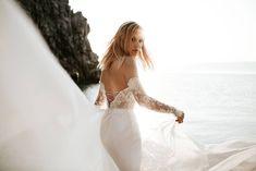 Cintia top and Cintia skirt / Nora Sarman Bridal / photo Pinewood Weddings Dream Wedding, Wedding Day, Bohemian Bride, Bridal Collection, Destination Wedding, Wedding Destinations, Bridal Style, Wedding Gowns, Elegant