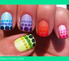Colorful Polka Dots | Aydi Ş.'s Photo | Beautylish