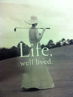 Golf, a game for life! #golf #lorisgolfshoppe