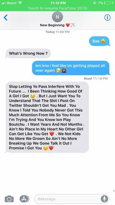 Trust he did just fck another bitch don't let those text messages fool ya Relationship Paragraphs, Cute Relationship Texts, Couple Goals Relationships, Relationship Goals Pictures, Goal Quotes, Fact Quotes, Cute Text Messages, Cute Messages For Boyfriend, Freaky Quotes