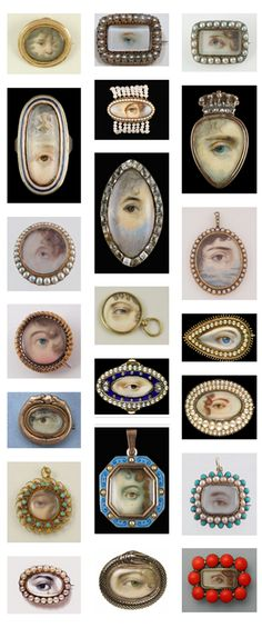 Georgian Eye Jewellery