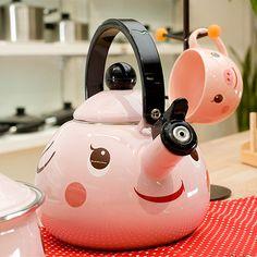 tea kettle & cup.
