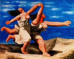 Two Women Running on the Beach (The race), 1922 by Pablo Picasso