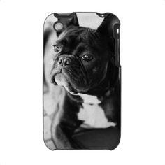 Französisch Bulldog Iphone 3 Schutzhülle von Poster_News