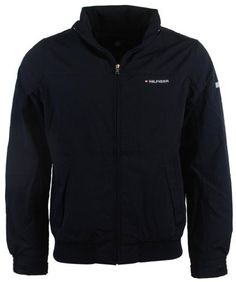 Tommy Hilfiger Mens Nylon Yacht Jacket Windbreaker - XXL - Navy (638876711739) Tommy Hilfiger mens yacht jacket. Fold away hood, interior pocket, and adjustable velcro closure on cuffs. Body/sleeve lining 100% nylon. Lining 100% synthetic. Water resistant http://www.99wtf.net/young-style/178/