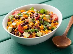 Black Bean Salad recipe from Food Network Kitchen via Food Network