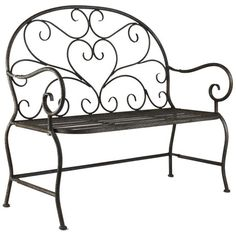 I pinned this Garden Bench from the Cottage Chic event at Joss and Main!
