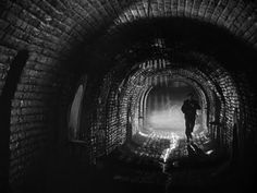 The Third Man (1949), directed by Caroll Reed works wonders with light. The dramatic setting of postwar Berlin gives a dept to the story's portrail of a world in ruins - both personal and political. Beautiful film!