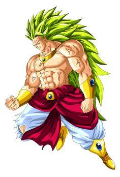 Broly Super Saiyan 3 by OriginalSuperSaiyan.deviantart.com on @DeviantArt