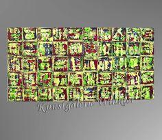 Acrylmalerei - Gemälde Abstrakt Acrylbilder Leinwand Unikat Bilde - ein Designerstück von A-Winkler bei DaWanda
