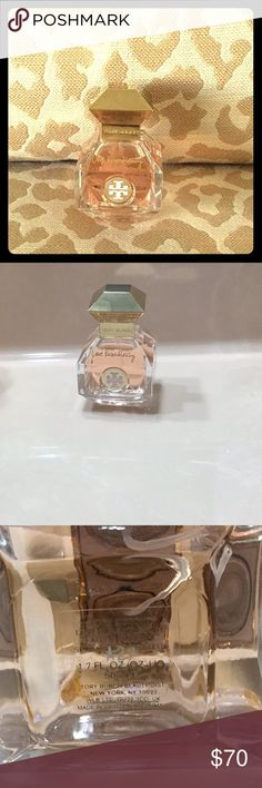 Tory Burch 💕Love Relentlessly💕 1.7 fl. oz. 💎Only a few uses💎 Fragrance Family:  💐Floral 💐 Scent Type:  Warm Florals  Key Notes:  🥀Pink Pepper, Rose, Orris, Sandalwood🥀 About:  Love Relentlessly captures the euphoric feeling of falling in love. A sparkling mix of fiery pink pepper and patchouli is fused with dewy rose and addictive amber. This irresistible scent is like a love letter encased in a jewel-shaped bottle. Tory Burch Other