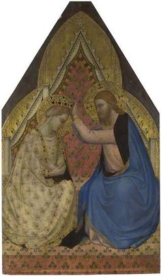 The Coronation of the Virgin ~ ca1340, Bernardo Daddi