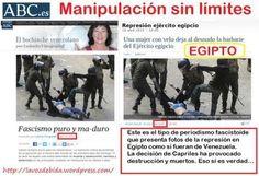 """Prensa Española: """"EN VENEZUELA SIEMPRE ESTAN OCURRIENDO COSAS PERO EN COLOMBIA Y EN MÉXICO NO"""""""