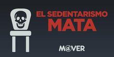 ¿Sabías que en Chile, el 82,7% de la población se declara sedentaria? Recuerda #ElSedentarismoMata