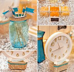 new years eve sparkle baby shower ideas