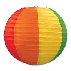 Party Souq - Rainbow Party Paper Lanterns|3 pcs, $ 30.77