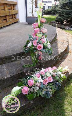 Creative Flower Arrangements, Funeral Flower Arrangements, Floral Arrangements, Grave Flowers, Funeral Flowers, Wedding Flowers, Grave Decorations, Wedding Decorations, Christmas Decorations