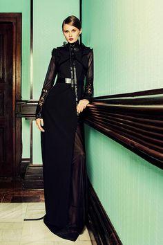 Simona Semen AW2013 Alexandra Abraham harness Clothing, Dresses, Style, Fashion, Outfits, Vestidos, Swag, Moda, Fashion Styles