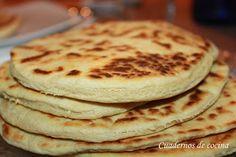 Cuadernos de cocina: Piadinas Romagnola